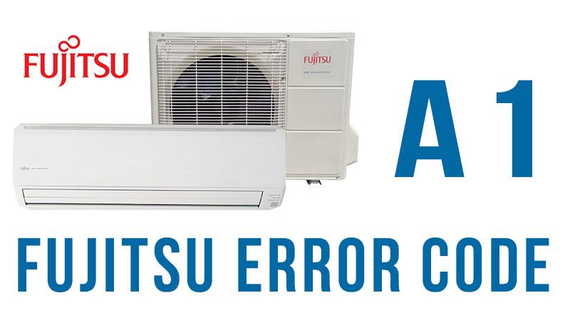 Fujitsu error code a1
