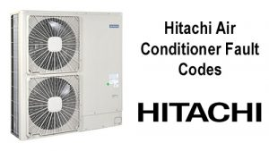 Hitachi Air Conditioner Fault Codes