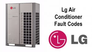 Lg Air Conditioner Fault Codes