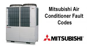 Mitsubishi Air Conditioner Fault Codes