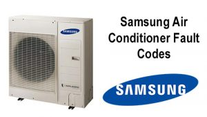 Samsung Air Conditioner Fault Codes